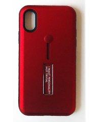 iPhoneXケース スマホ ケース バンパー tpu カバー キラキラ メタリック 「アイフォンXケース メタル スタンド スマホケース」 衝撃 シリコン レ