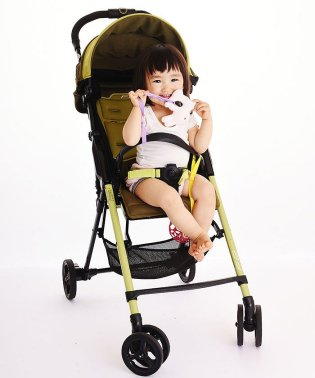 Baby Buddy ベビーバディ おもちゃストラップ2色各1本組 イエロー/ライラック