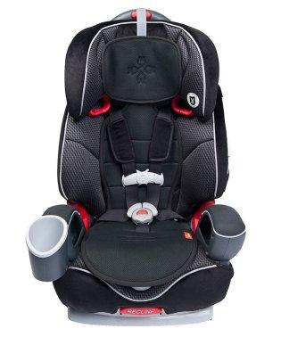 meeno babies ミーノベビーズ クール・ミー チャイルドシート専用さらさらシート ブラック