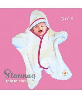 Tuppence & Crumble タッペンスアンドクランブル 星型アフガン スターラップ スプラッシュクラブ Starsnug 0-4M ピンク