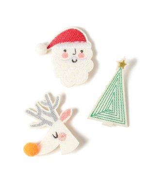 Meri Meri / クリスマス ブローチ 3Pセット