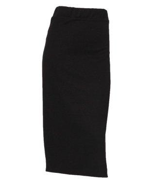 サイドスリットニットタイトスカート