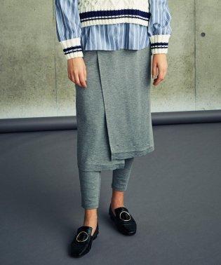 レイヤードポンチスカート