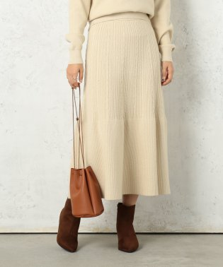 マーメイドラインニットスカート