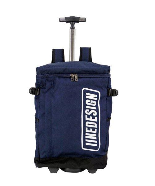 (BCLOVER/ビークローバー)キャリーバッグ 機内持ち込みサイズ w*lt(ウォルト) 2way リュック レディース メンズ おしゃれ キャリーケース リュックキャリー 旅行 アウトドア/ユニセックス ネイビー