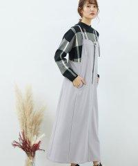 ソフトストレッチジャンパースカート