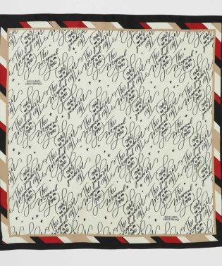 グラフィックプリントスカーフ