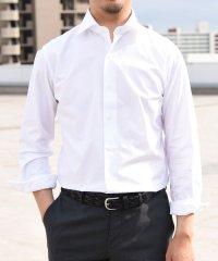 SD: ALBINI バンド ソリッド ワイドカラーシャツ