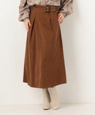 アイレットベルトAラインスカート