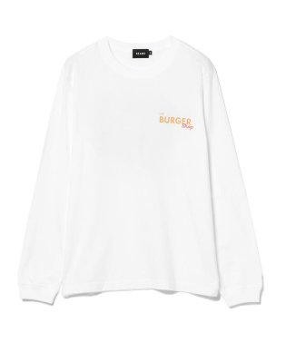 BEAMS / プリント ロングスリーブTシャツ