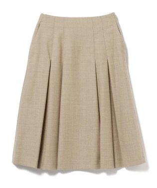 Demi-Luxe BEAMS / サキソニー ボックスプリーツスカート