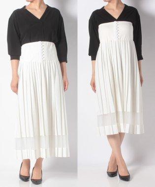 2WAYプリーツスカート