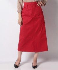 ハイウエストチノタイトスカート