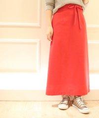 ツィードマキシスカート