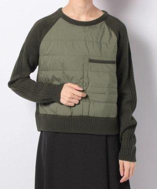 【BEATRICE】異素材カモフラセーター