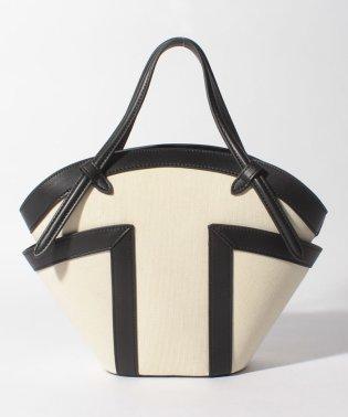 【Le Vernis】バイカラーハンドバッグ