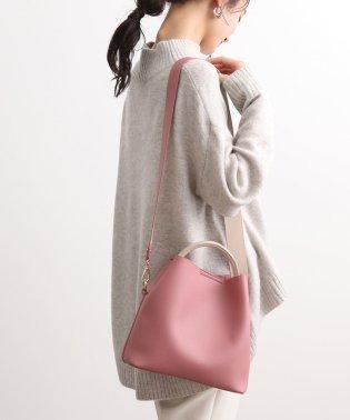 【2WAY】2トーンミドルサイズトートバッグ