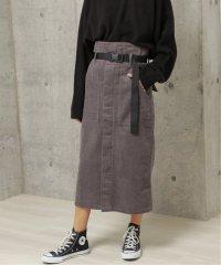 親子コールベルト付ナロースカート
