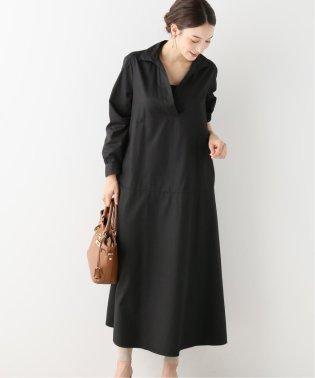 【BARBA】 スキッパーシャツドレス