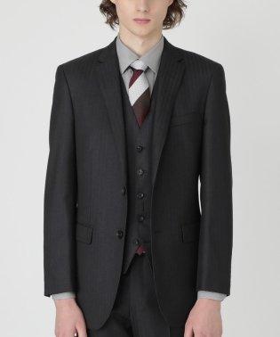 MIYUKIヘリンボーンスリーピーススーツ