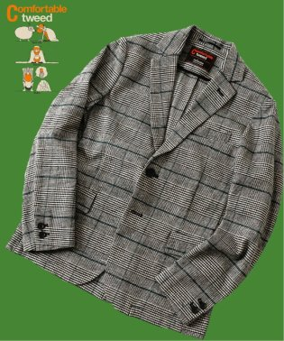 【COMFORTABLE TWEED】ジャケット