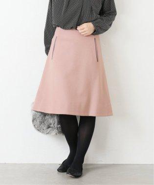 カラーウール台形スカート◆