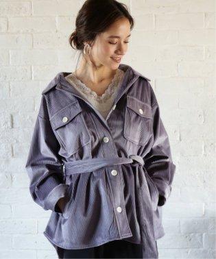 【WEB限定】コーデュロイCPOシャツジャケット