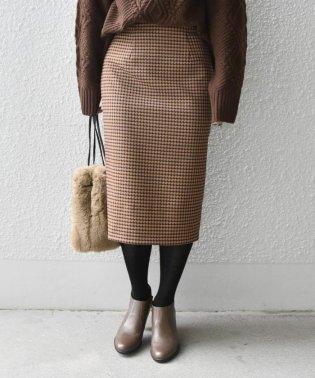 Khaju:ジオメトリーチェックスカート