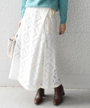Khaju:レースラップスカート