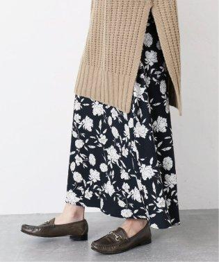 フラワープリントマーメイドスカート