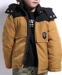 へリンボン配色ダウンジャケット(140cm~160cm)