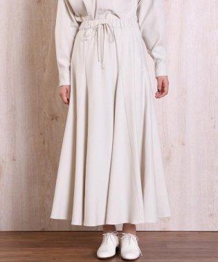 《Masion de Beige》ギャザーロングスカート