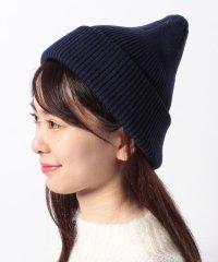 【NANO UNIVERSE/ナノユニバース】カラーニット帽