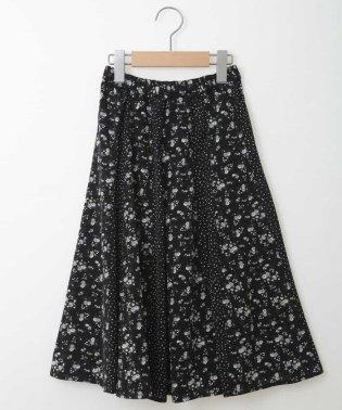 [100-130]フラワードットドッキングスカート[WEB限定サイズ]