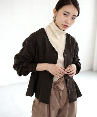 【WEB限定】サージバスクジャケット