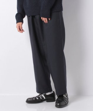 【SHIPS】R/METHA:TUCK WIDE TROUSERS
