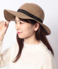 【NANO UNIVERSE/ナノユニバース】フェルト女優帽