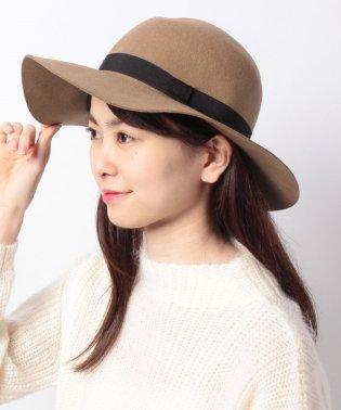【NANO UNIVERSE】フェルト女優帽