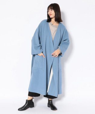 Robes&Confections/ローブス&コンフェクションズ/Alpaca Shaggy Wrap Coat/BRC-C03-109