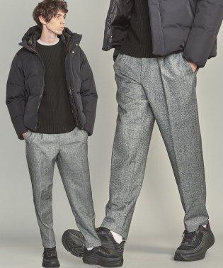 【WEB限定】 by ホームスパン ワイド テーパード パンツ