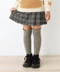 【90-140cm】チェック柄スカート風ショートパンツ