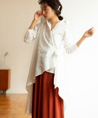 ASYMMETRY LONG SHIRTS