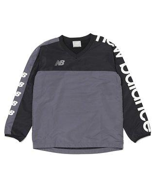 ニューバランス/キッズ/ウォームアップハーフジップジャケット