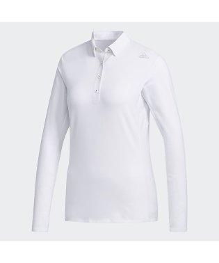アディダス/レディス/CLIMAWARM ストレッチ 長袖ボタンダウンシャツ