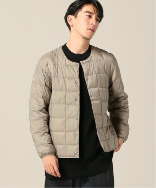 【TAION / タイオン】CREW NECK BUTTON DOWN JKT