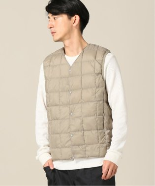 【TAION / タイオン】V NECK BUTTON VEST