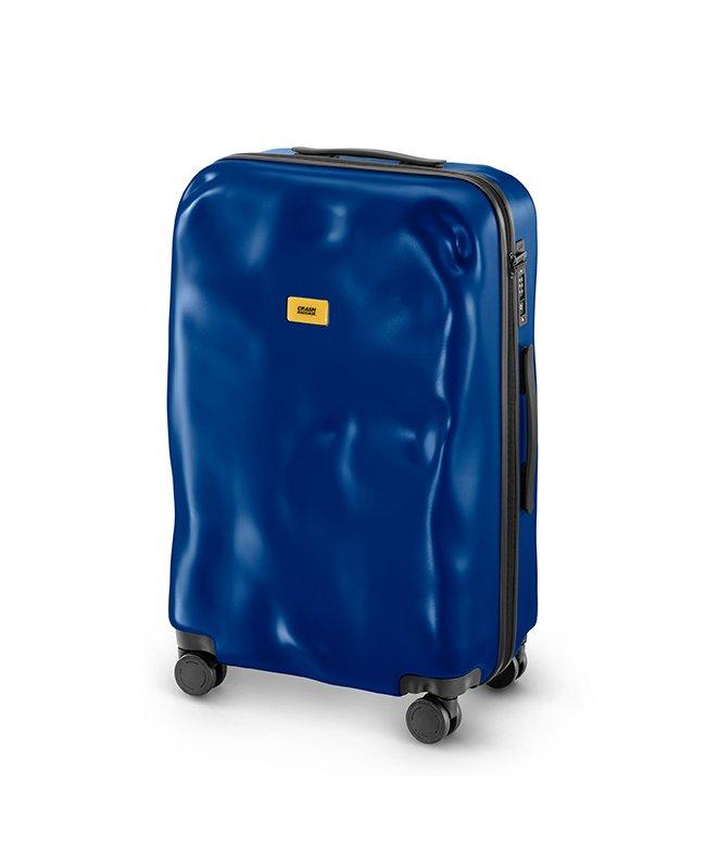 (CRASH BAGGAGE/クラッシュバゲージ)クラッシュバゲージ スーツケース Mサイズ 65L かわいい 軽量 CRASH BAGGAGE cb162/ユニセックス ブルー系1