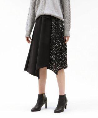 スタープリーツブロッキングスカート