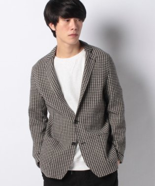 【SHIPS】991:WOOL KNIT JKT H/TOOTH