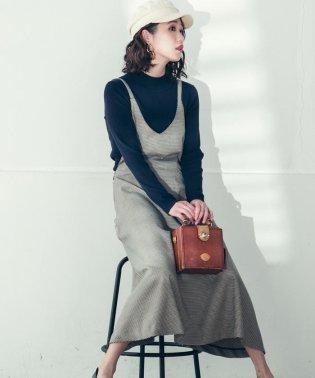 【socolla】【WEB別注】サスペンダー付き2WAYスカート